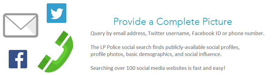 LP Police - Social Media Search